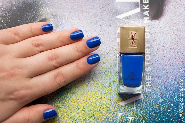 03 YSL #18 Bleu Majorelle Ann Sokolova swatch