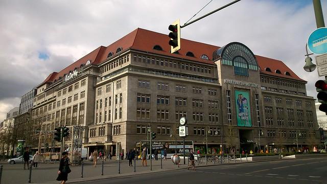 KaDeWe conocidos grandes almacenes para ir de compras en Berlín