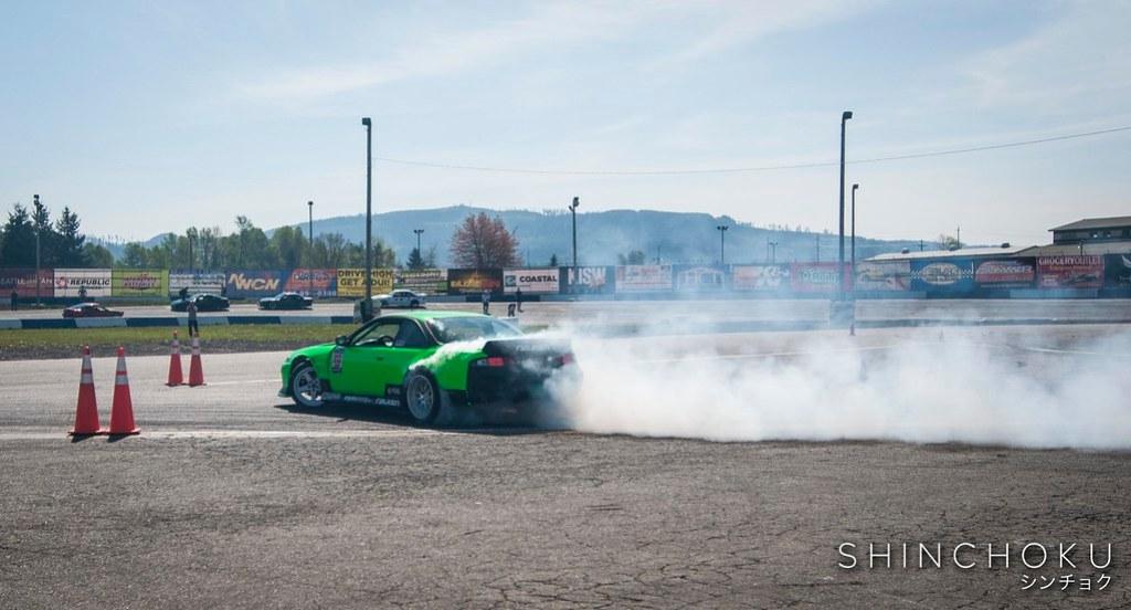 Evergreen Drift - Pro Am Round 1