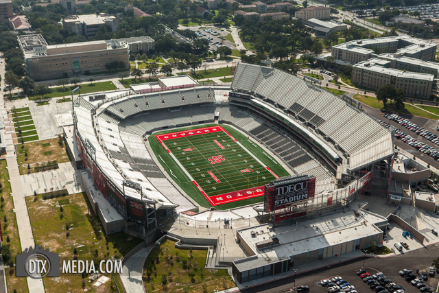 University of Houston Stadium Aerials