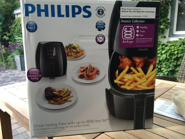 airfryer philips gezond healthy koken cooking