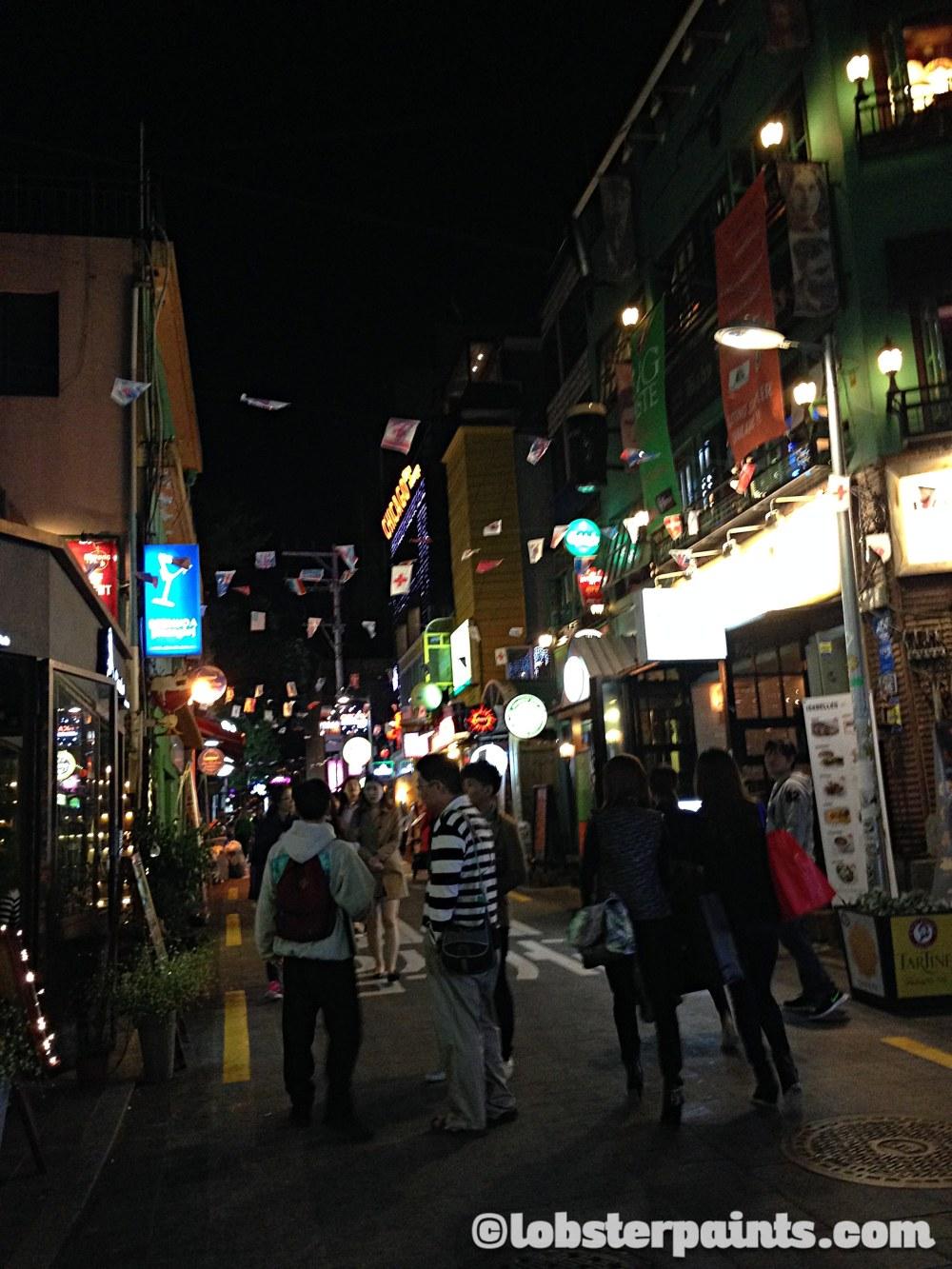 5 Oct 2014: Itaewon | Seoul, South Korea