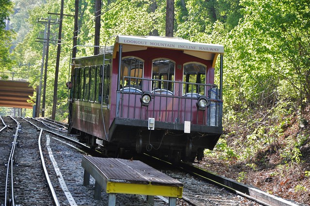 Incline Railway At Lookout Mountain (4-3-12)
