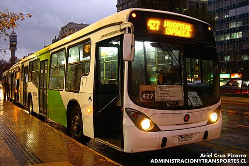 Transantiago - Express de Santiago Uno - Marcopolo Gran Viale / Volvo (ZN5302)