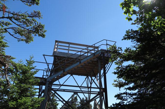 Mt Carrigain Summit Tower