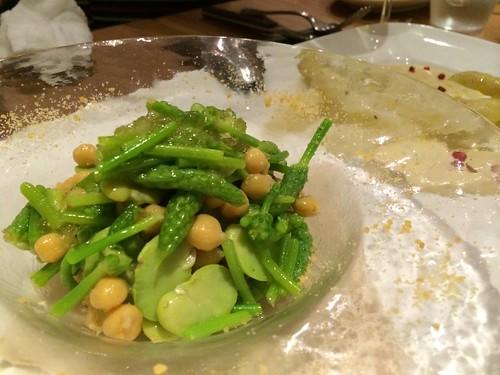 空豆といろいろ@キョウヤ クチーナ イタリアーナ