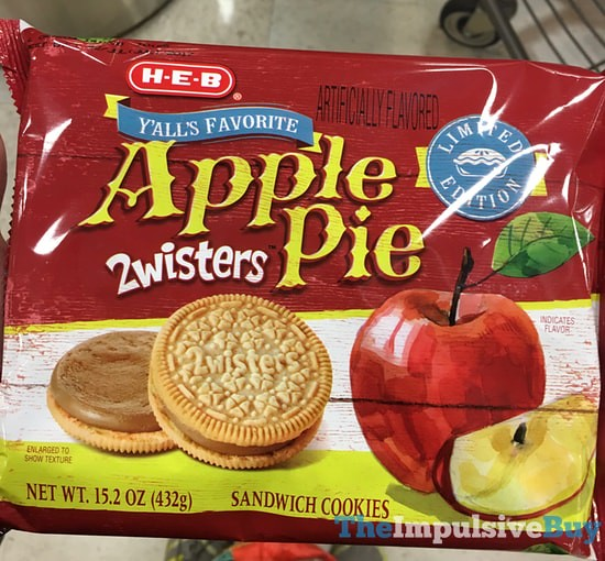 H-E-B Limited Edition Y'all's Favorite Apple Pie 2wisters