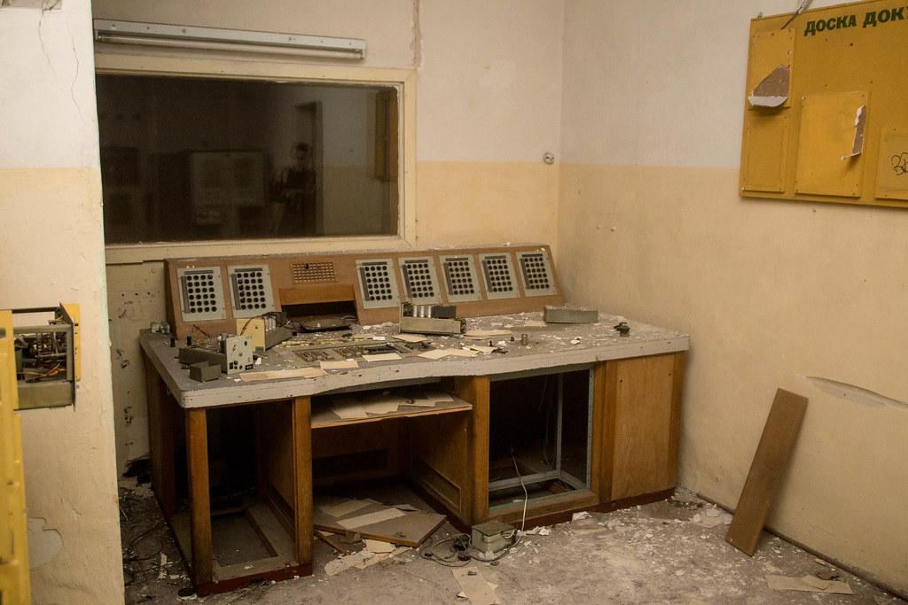 Wünsdorf: Haus der Offiziere: Altes Tonstudio / Mischpult