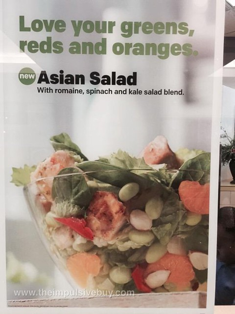 McDonald's Asian Salad with Kale
