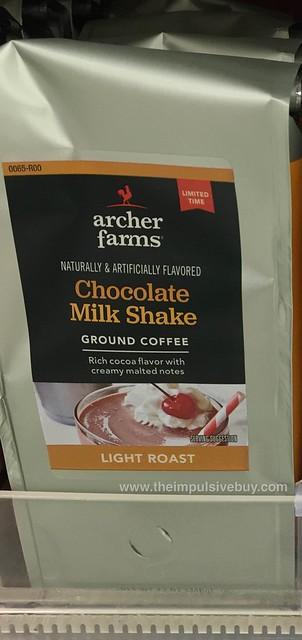 Archer Farms Limited Time Chocolate Milk Shake Ground Coffee