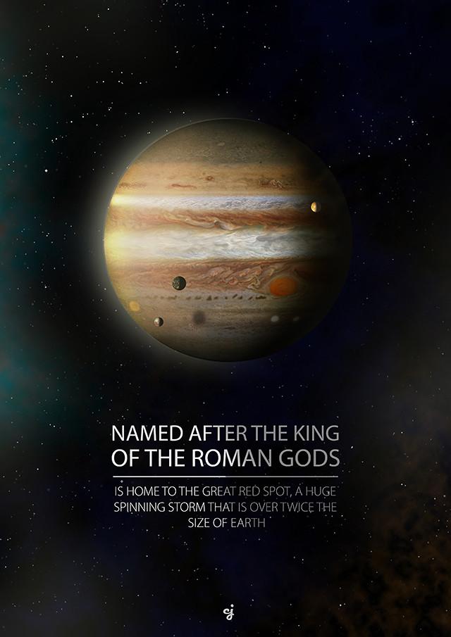 Jupiter poster design