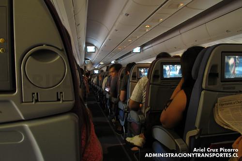 LAN Airlines - LAN532 - Boeing 767-370ER CC-CRH