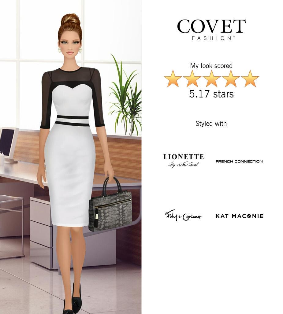 My Look Scored Stars In The Interior Designer Challenge In Covet Fashion