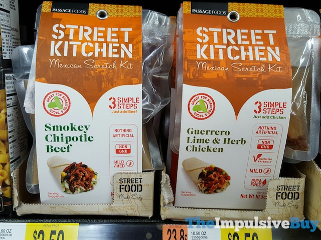Passage Foods Street Kitchen Mexican Scratch Kit (Smokey Chipotle Beef and Guerreo Lime & Herb Chicken)