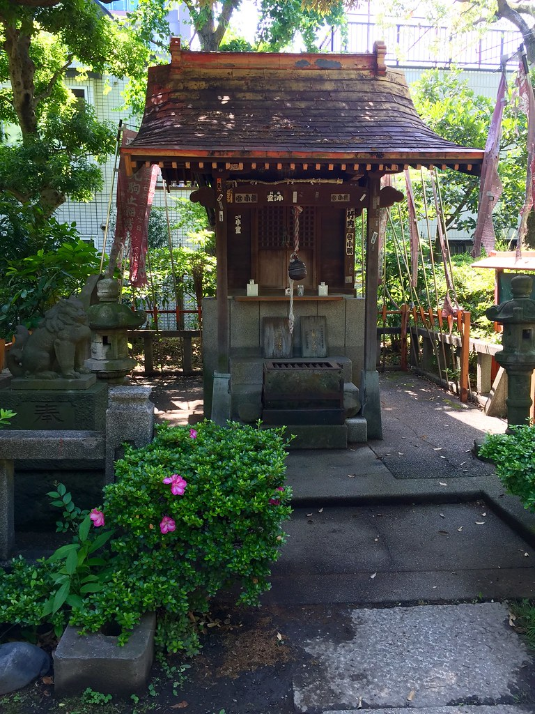 A Shrine at the Old Yasuda Garden
