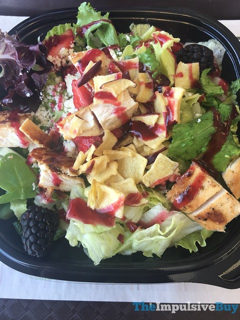 Wendy's Summer Berry Chicken Salad 2