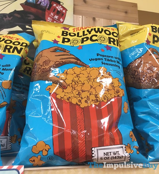 Trader Joe's Bollywood Popcorn
