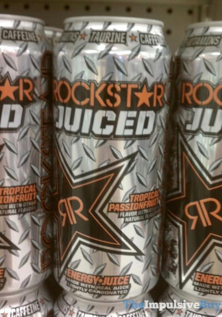 Rockstar Juiced Tropical Passionfruit Energy Juice