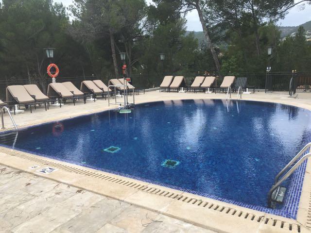 Piscine Castillo Hotel Son Vida