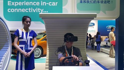 สัมผัสประสบการณ์ใช้งาน SYNC ผ่านระบบจำลองการขับขี่ ผ่านแว่น VR Oculus Rift