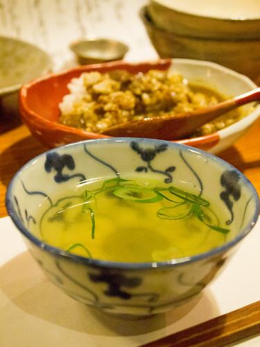 軍鶏スープ