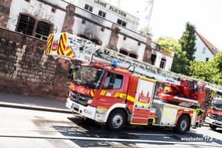 Lagerhallenbrand Mainz-Weisenau 04.06.15