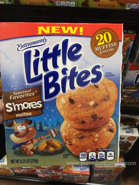 Entenmann's Seasonal Favorites S'mores Little Bites