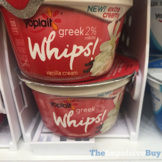 Yoplait Greek 2% Whips Vanilla Cream Yogurt