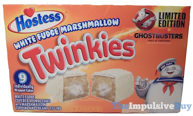 Hostess Limited Edition White Fudge Marshmallow Twinkies