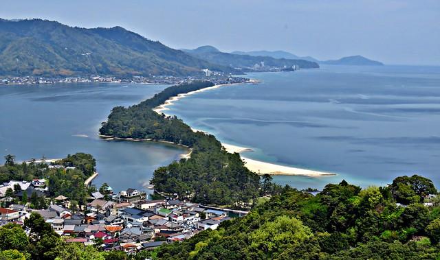 Amanohashidate View Land, Amanohashidate 天橋立, Japan