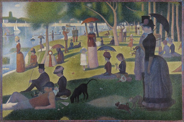 """Sunday Afternoon on the Island of La Grande Jatte,"" by Georges Seurat"