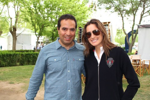 Nacho y Jessica Springsteen