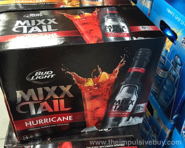 Bud Light Mixx Tail Hurricane