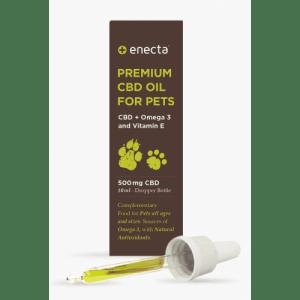 Aceite con CBD para animales Enecta