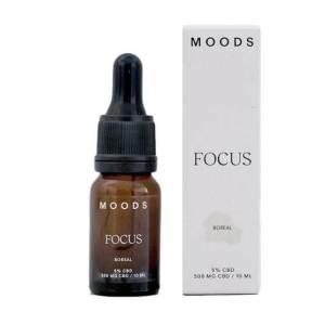 Moods Focus 5% Aceite CBD