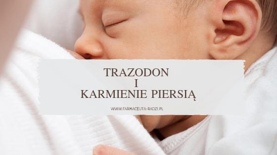 Trazodon i karmienie piersią