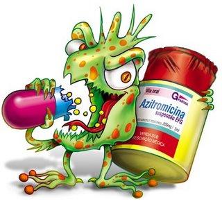 escrituração de antibióticos