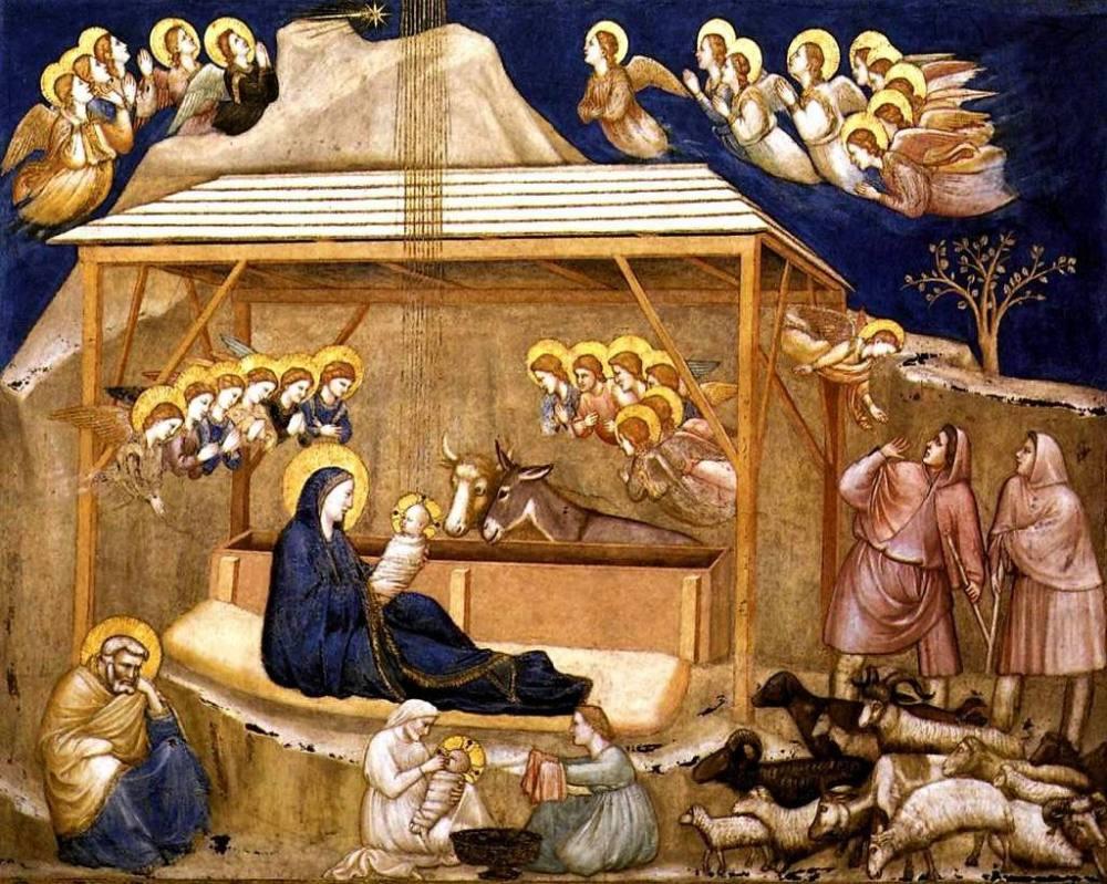 Santo Natal (com mimos de Giotto)