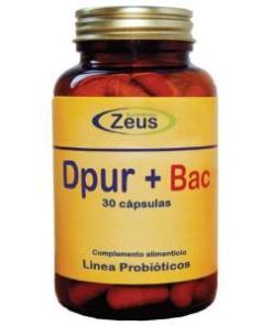 DPUR + BAC 30 CÁPSULAS Zeus