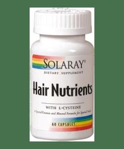 HAIR NUTRIENTS 60 Cápsulas Solaray