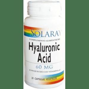 HYALURONIC ACID 60 MG 30 CÁPSULAS Solaray