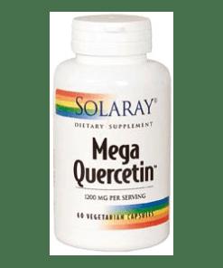 MEGA QUERCITIN 60 CÁPSULAS SOLARAY