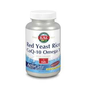 KAL RED RICE/ Q10/ OMEGA 3 60 PERLAS Kal