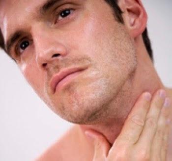 afeitado piel