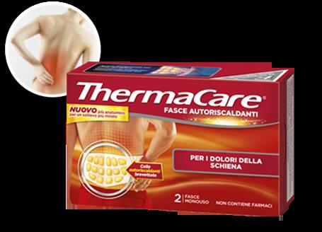 Fasce riscaldanti Thermacare in promozione scontate alla Farmacia Viale Giulio Cesare Novara