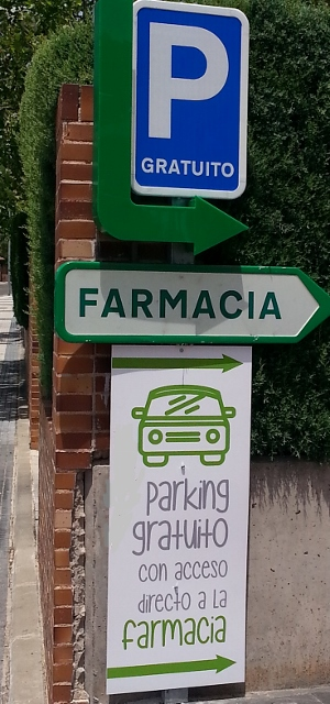 parking farmacia