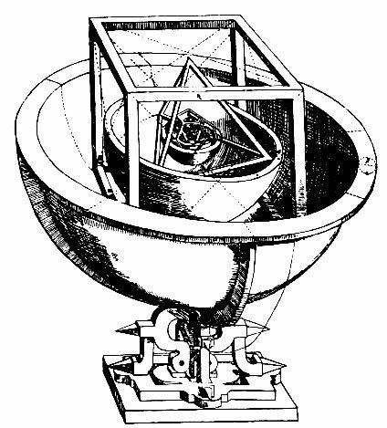 El universo platónico-pitagórico de Kepler