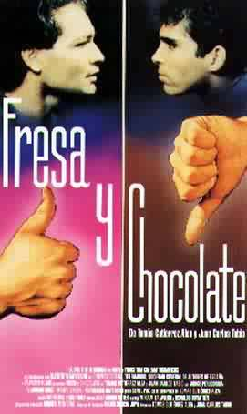 Cartel de la pelicula Fresa y chocolate
