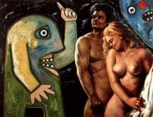 Enrico Baj: Adam and Eve