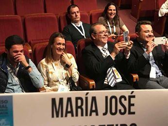 Fotografía desde la mesa inaugural Congreso Salamanca
